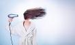 Pozwól włosom wyschnąć