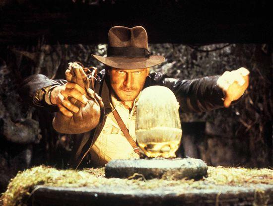 9. Poszukiwacze zaginionej arki (1980), reż. Steven Spielberg