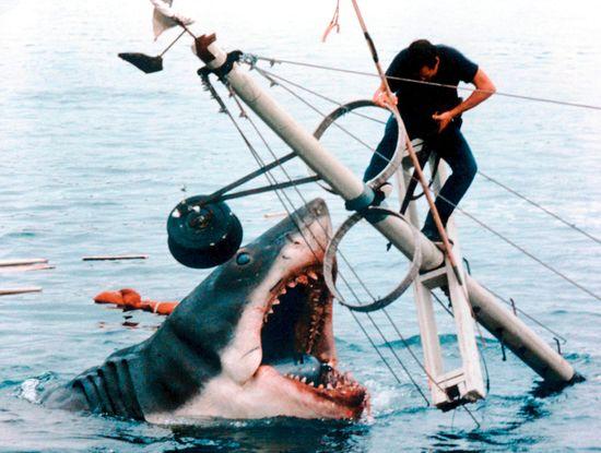 8. Szczęki (1975), reż. Steven Spielberg