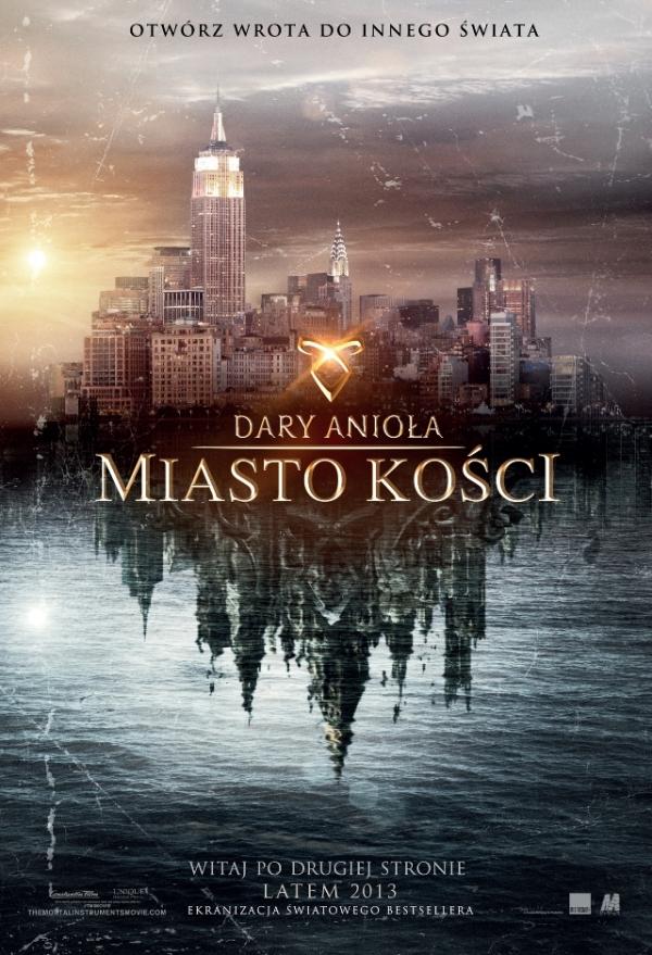Dary Anioła: Miasto kości - polski plakat