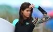 Alexandra Daddario na planie Słonecznego patrolu  - Zdjęcie nr 4