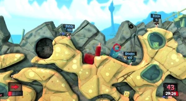 Worms: Revolution – gry na 2 graczy
