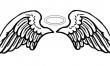 Skrzydła - wzory damskich tatuaży