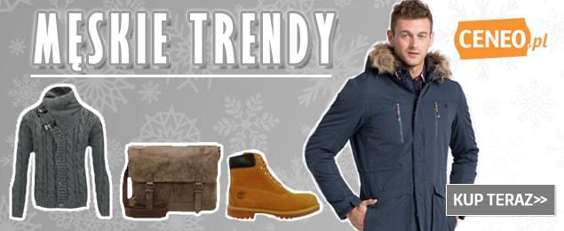 Trendy na jesień - moda męska