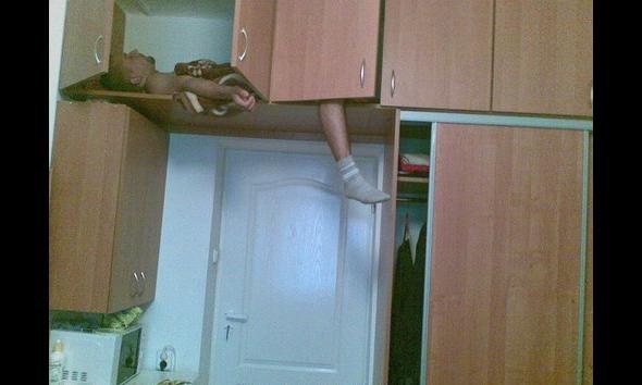 Student w szafie - czy aby na pewno rzadki widok?