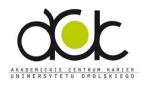 Akademickie Centrum Karier Uniwersytet Opolski