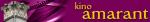 Logo: Kino Amarant - Poznań