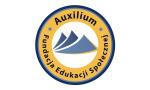Logo: Akademia Dziennikarstwa i Realizacji Dźwięku we współpracy z WSTH w Podkowie Leśnej