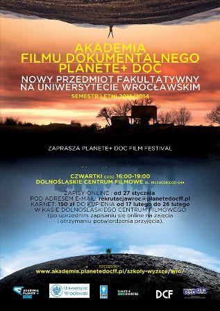 Akademia Filmu Dokumentalnego PLANETE+ DOC