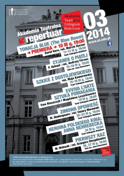 """Premiera """"Tonacja blue"""" w reżyserii Marcina Hycnara"""