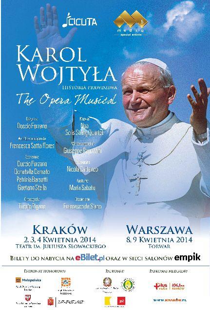 """Premiera włoskiego musicalu """"Karol Wojtyła. Historia Prawdziwa"""""""