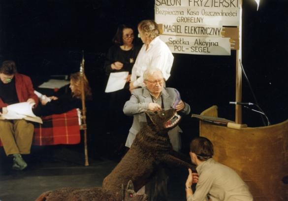 Wspomnienie o Tadeuszu Różewiczu w Teatrze Polskim