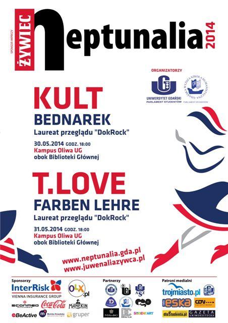 Neptunalia 2014: Farben Lehre, T.Love