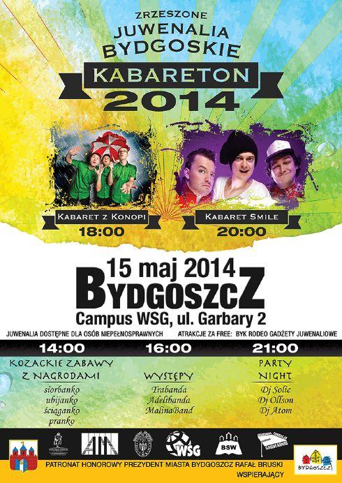 Juwenalia Bydgoskie 2014 - Kabareton