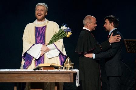 """""""Lekcja religii"""" w Teatrze Imka"""