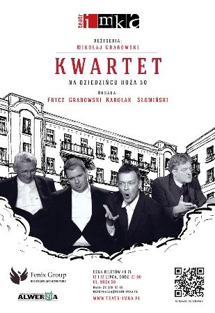 """Spektakl """"Kwartet"""" na dziedzińcu przedwojennej kamienicy"""