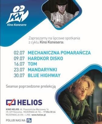 Kino Konesera w Heliosie: Mandarynki