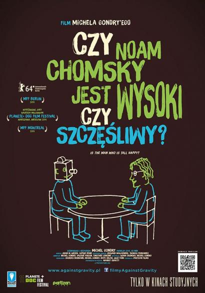 Czy Noam Chomsky jest wysoki czy szczęśliwy? - premiera w DCF-ie