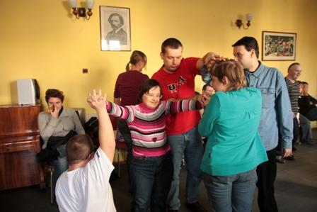 Niepełnosprawni na deskach Teatru Polskiego