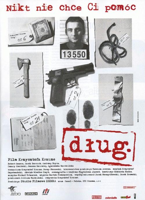 """Pokaz filmu """"Dług"""" w ramach cyklu """"I love Polish cinema"""""""