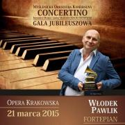 Gala Jubileuszowa Orkiestry Concertino+ Włodek Pawlik