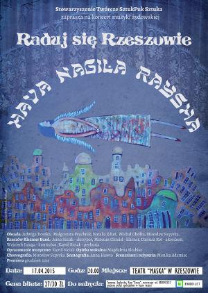 Koncert muzyki zydowskiej Hava Nagila Raysha - Raduj się Rzeszowie