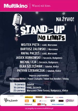 Stand Up No Limits w Multikinie