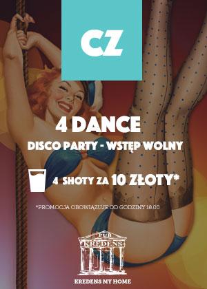 4 DANCE – disco party
