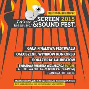 Screen & Sound Festival - Let's see the music 2015!