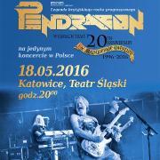 """Pendragon - """"The Masquerade Overture 20th Anniversary Tour"""""""