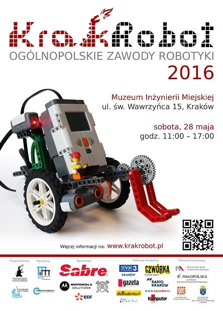 KrakRobot 2016: Kraków stolicą robotyki