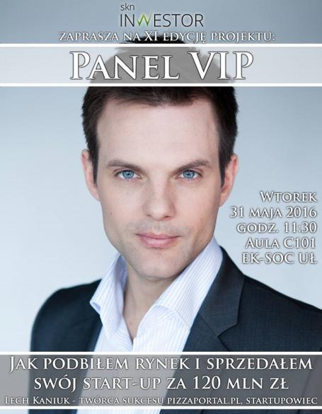 Panel VIP na Uniwersytecie Łódzkim