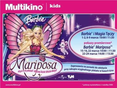 Barbie w Multikinie
