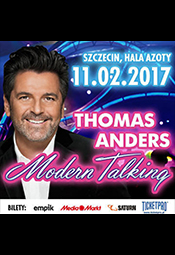 Thomas Anders and Modern Talking Band - koncert w walentynki