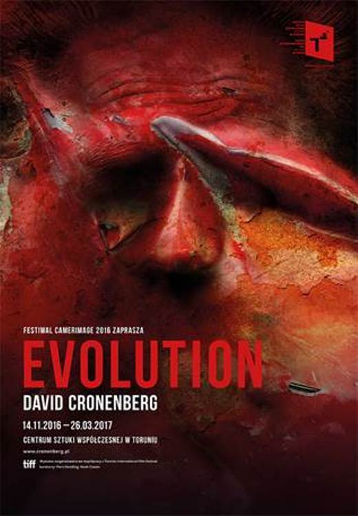 "Wystawa : David Cronenberg ""Evolution"""