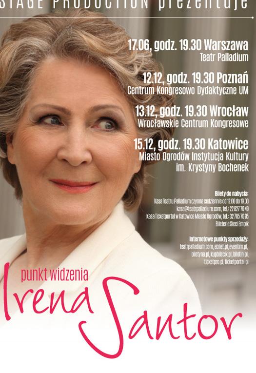 """Irena Santor - recital """"Punkt widzenia"""""""