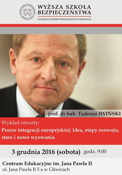 Prof. Iwiński w WSB