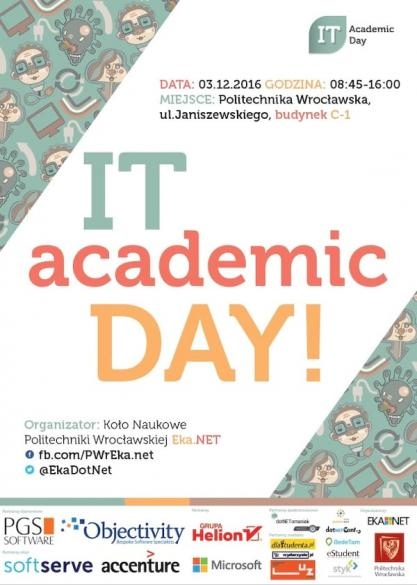 IT Academic Day Wrocław 2016
