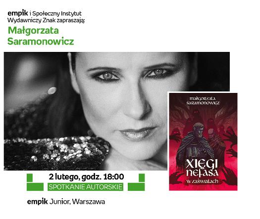 Spotkanie z Małgorzatą Saramonowicz