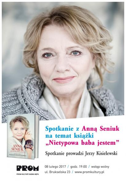 Spotkanie z Anną Seniuk