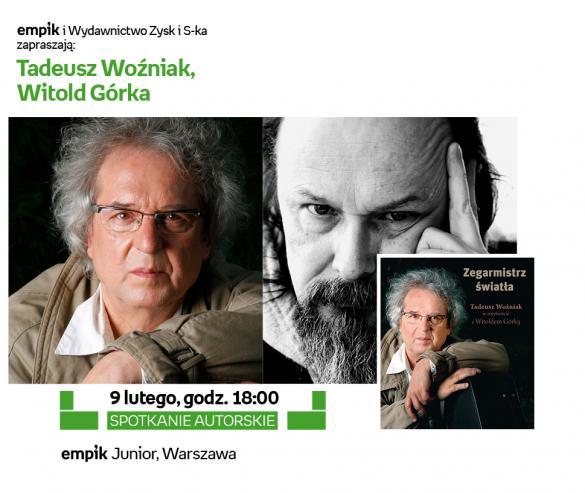 Spotkanie z Tadeuszem Woźniakiem