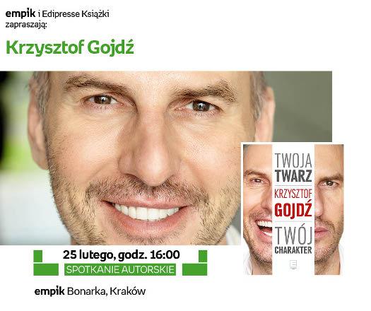 Spotkanie z Krzysztofem Gojdziem
