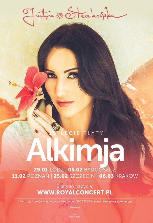 """Justyna Steczkowska - 15-lecie płyty """"Alkimja"""""""