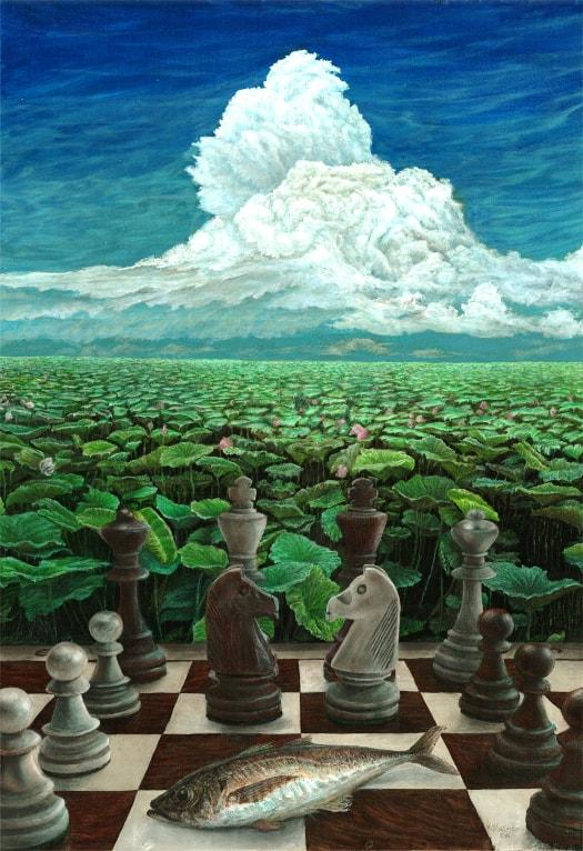 Realna iluzja - wystawa prac Krzysztofa Polaczenko