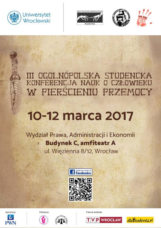"""""""W pierścieniu przemocy"""" - interdyscyplinarna konferencja we Wrocławiu"""