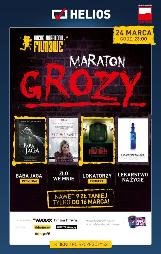 """Maraton Grozy z premierowym pokazem filmu """"Baba Jaga"""""""