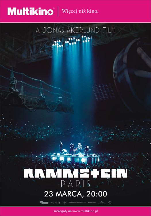 Rammstein: Paris - koncert w Multikinie