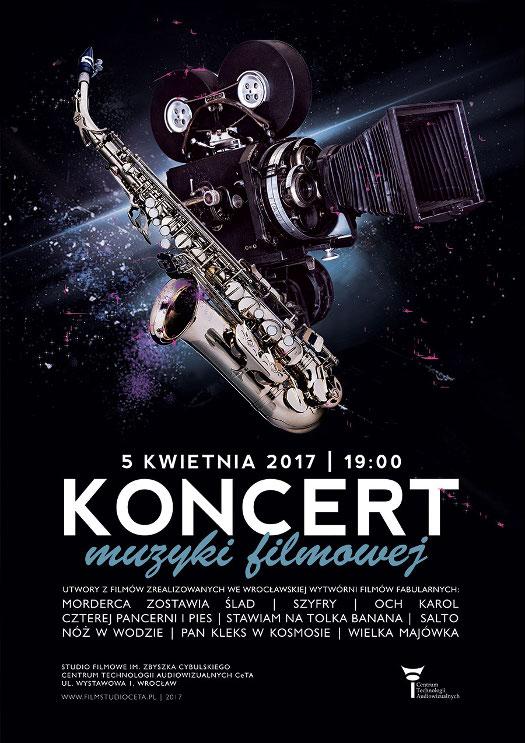 Koncert muzyki filmowej w Centrum Technologii Audiowizualnych