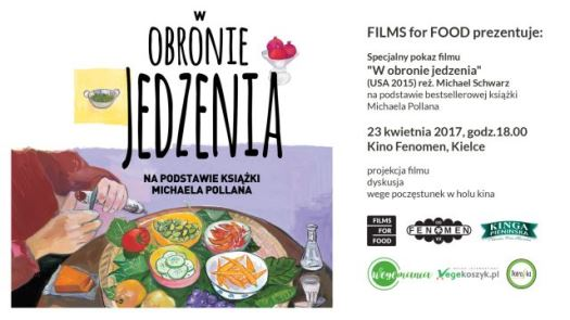 FILMS for FOOD - nowy cykl w kinie Fenomen