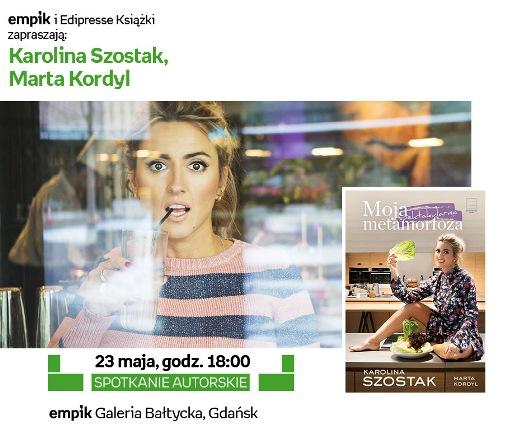 Karolina Szostak i Marta Krokodyl - spotkanie autorskie